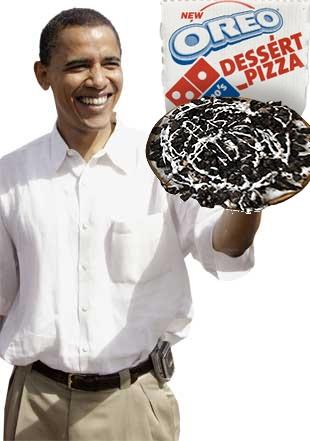 Obama Oreo Pizza