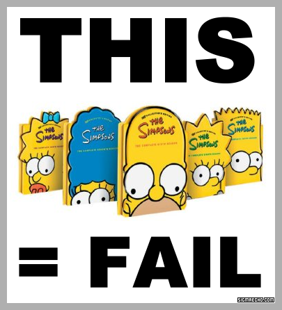 Simpsons FAIL at Packaging